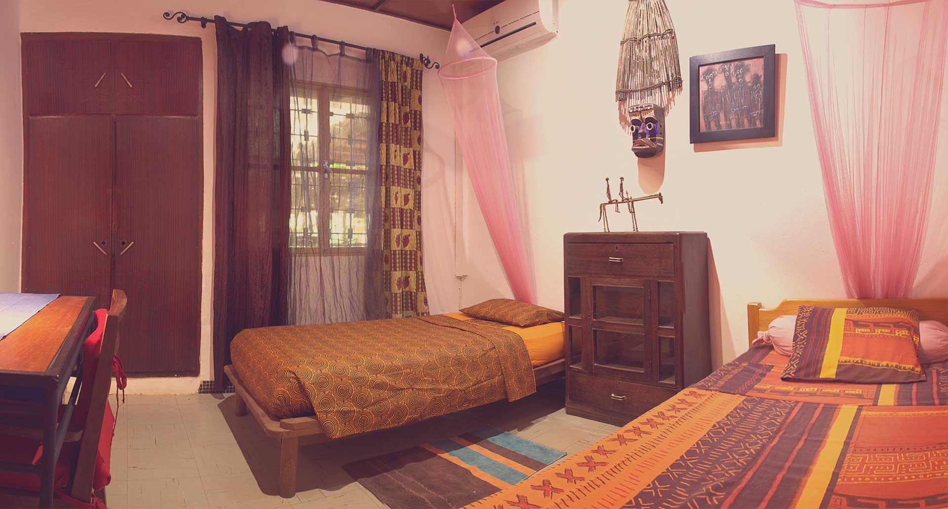 La chambre Ashanti